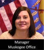 Angie Gordon - Manager Muskogee Office